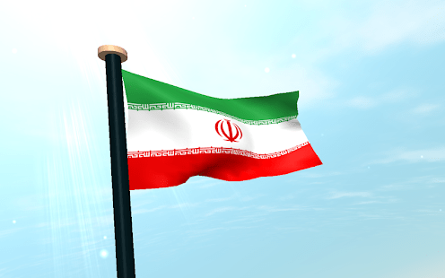 3d Iran Flag Live Wallpaper Iran Flag 3d Free Wallpaper Android Apps On Google Play