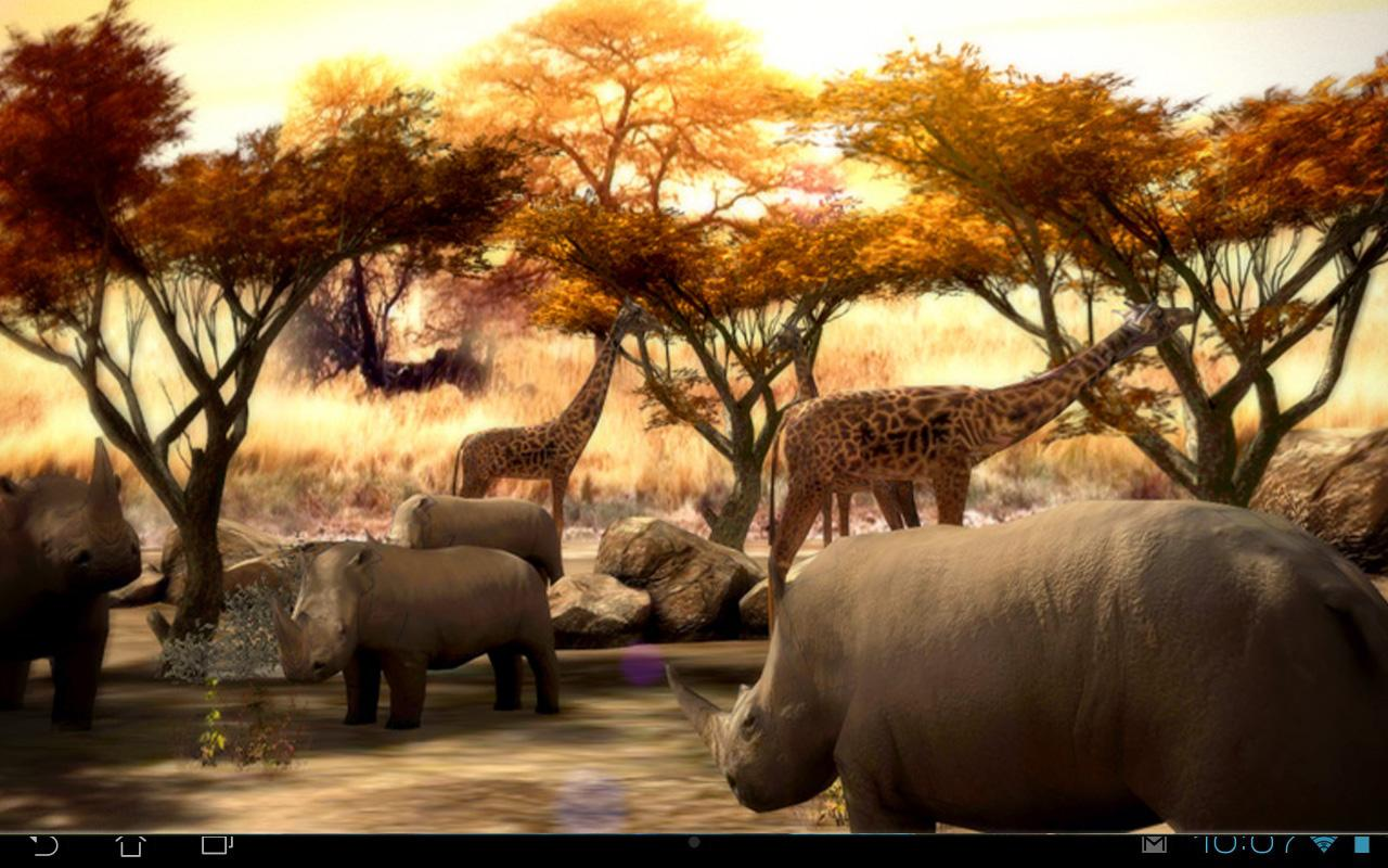 Africa 3d Pro Live Wallpaper Africa 3d Free Live Wallpaper Android Apps On Google Play