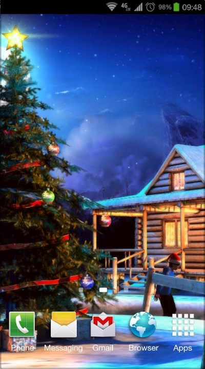 Christmas 3D Live Wallpaper - Android Apps on Google Play