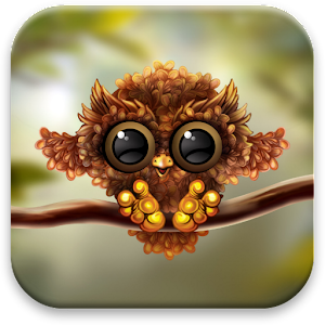 Free Fall Mobile Phone Wallpapers Autumn Little Owl Wallpaper Android Apps On Google Play