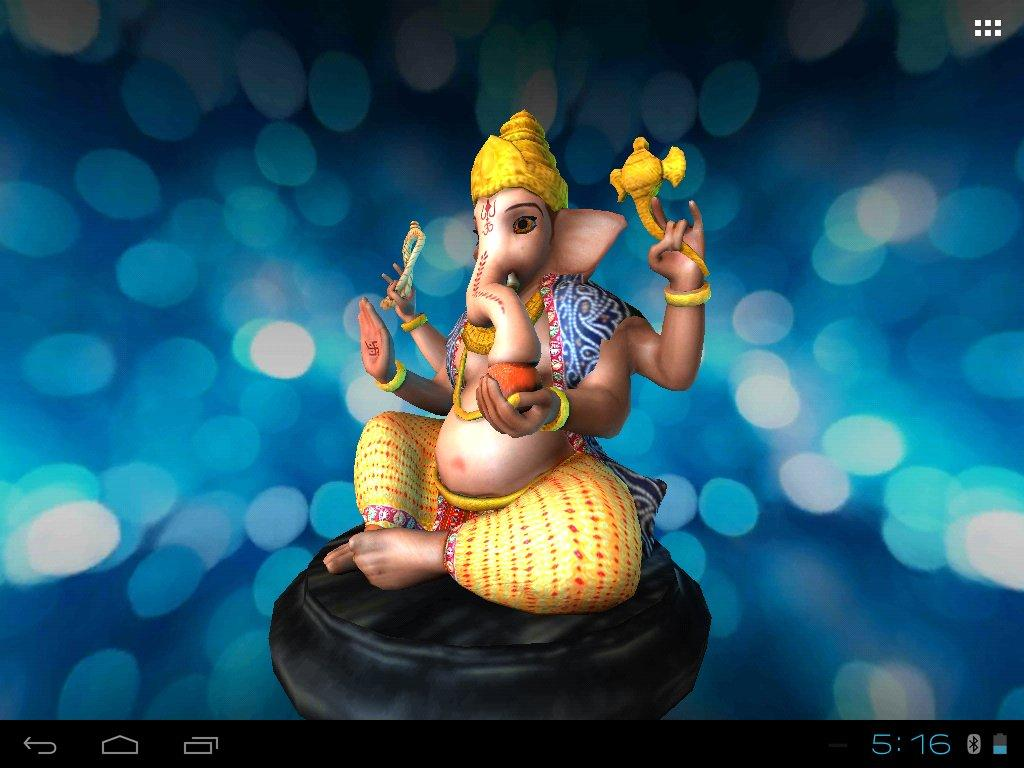 Dinesh Name 3d Wallpaper 3d Ganesh Live Wallpaper Android Apps On Google Play
