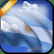 3D Argentina Flag LWP APK