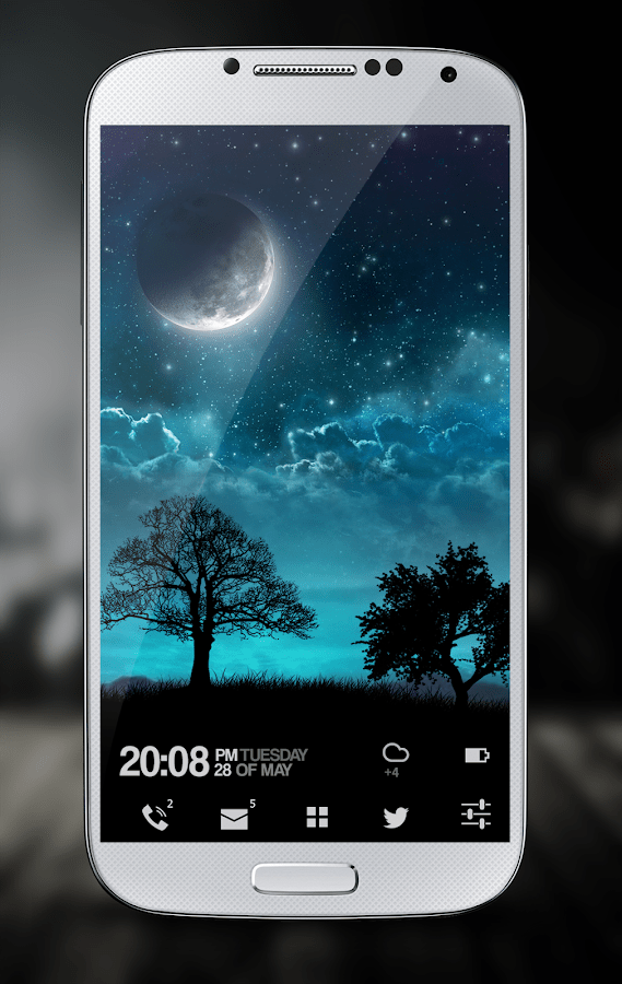 3d Wallpaper Parallax Apk Dream Night Pro Live Wallpaper Android Apps On Google Play