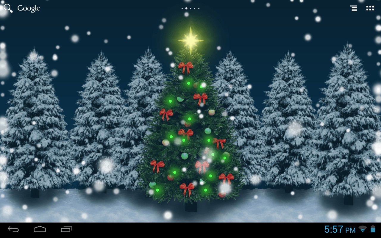 Live 3d Wallpaper Snowing Christmas Crystal Ball Free Lw Android Apps On Google Play