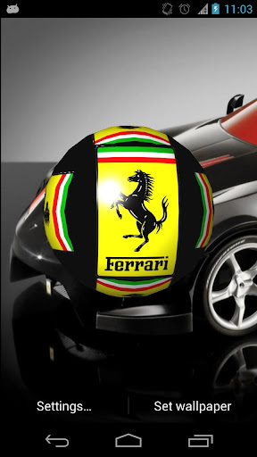 3d Ferrari Cube Live Wallpaper Download Ferrari 3d Live Wallpaper Google Play Softwares