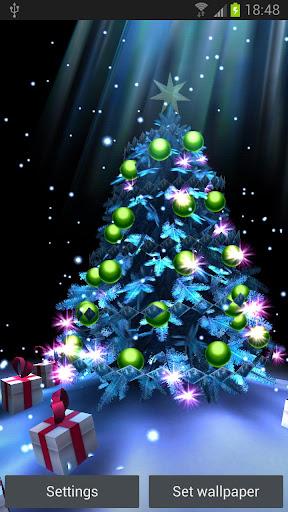 Android 3d Wallpaper Tutorial Christmas Tree 3d Arbol De Navidad V1 0 Descargar Gratis
