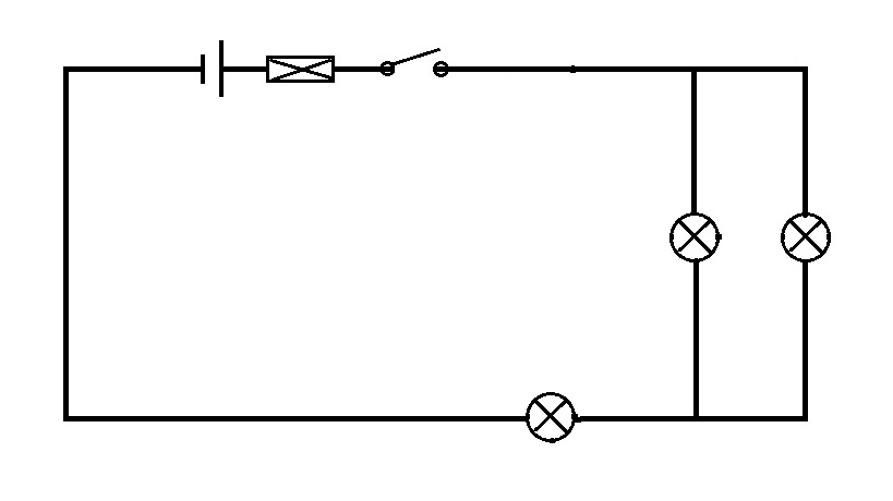 parallel circuit bulbs are in parallel