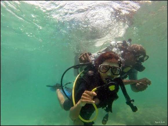 scuba dive havelock andaman bubbles
