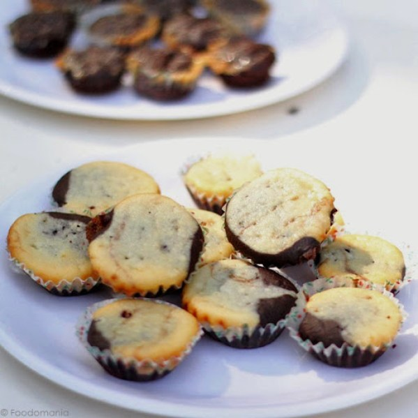 Brownie Cheesecake Bites Recipe from Scratch (Eggless Recipe)