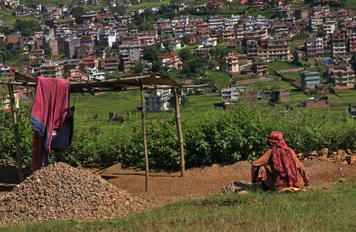 quarry worker nepal