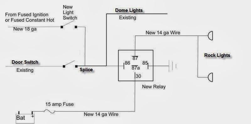 Wiring Schematic Lights Wiring Diagram