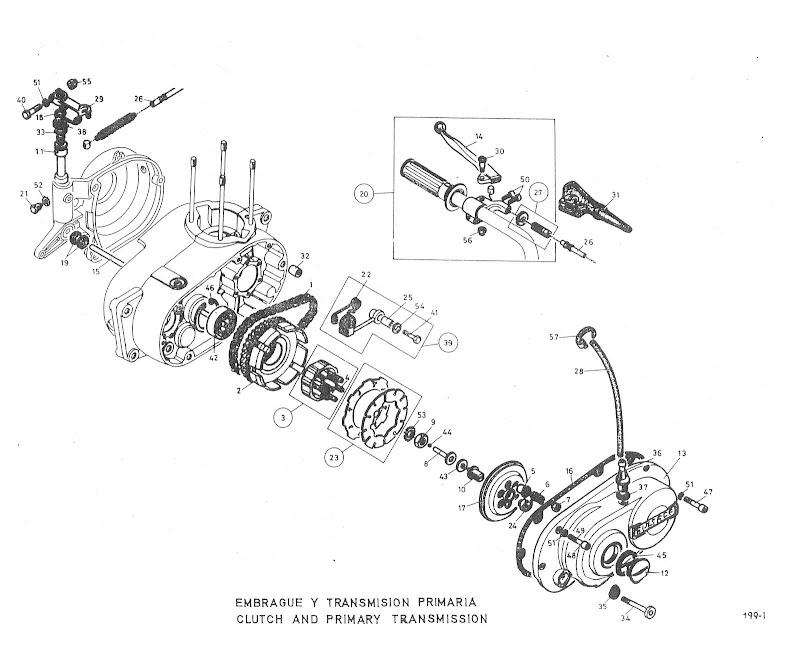 Bultaco Alpina (Model 165) 250 Problems With Clutch - Bultaco