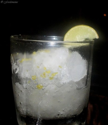 Italian Lemon Ice Granita
