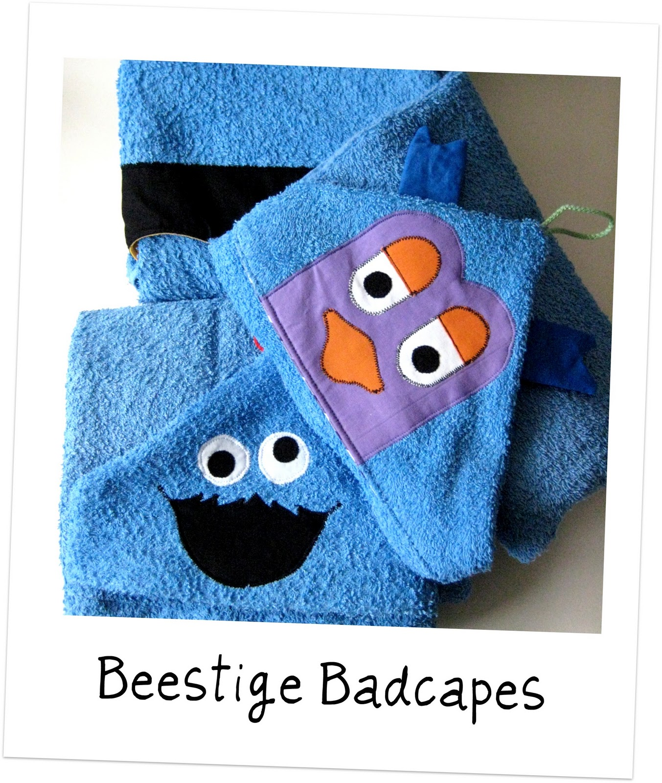 Badecape Kinder Sew Natural Blog Zelf Maken Beestige Badcapes