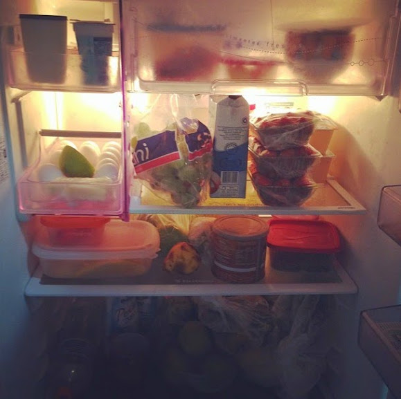 O que tem na sua geladeira?
