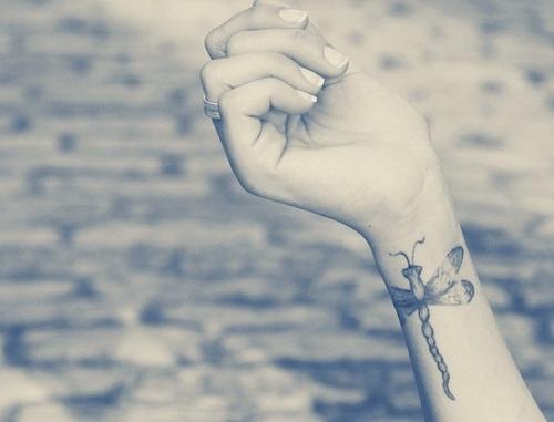 tattoos on wrist for girls