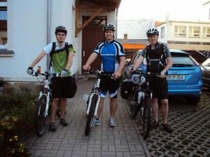Start in Zittau mit Ron's Unterstützung