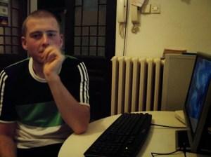 Bensch am serbischen PC