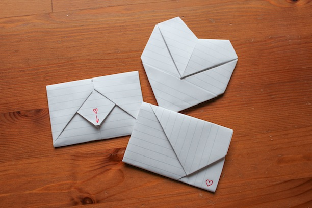 Assemble Shop and Studio Crafty Project Junior High Love Note Folding