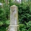 Pierwszowojenny pomnik na cmentarzu w Płoni