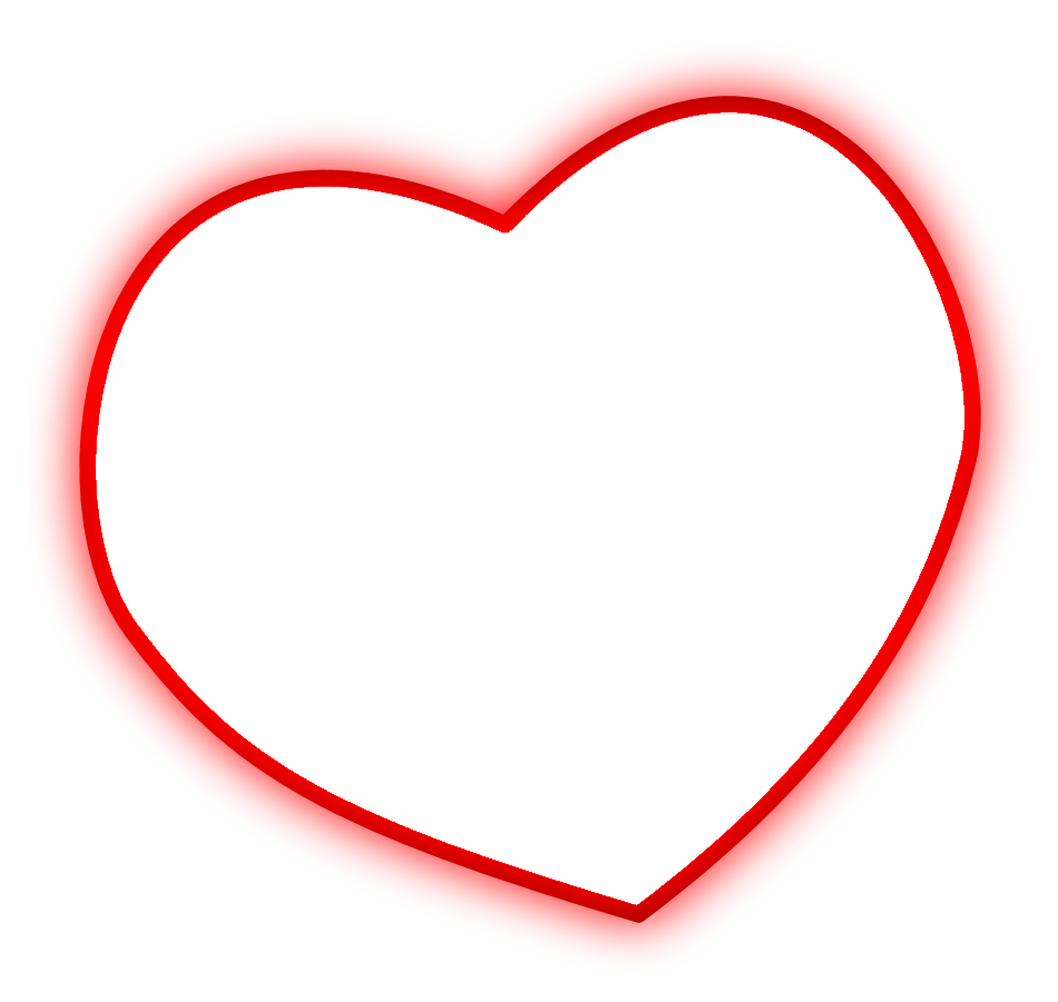 Photoscape Editor Heart Shape Png Frames - Heart Frames For Photos