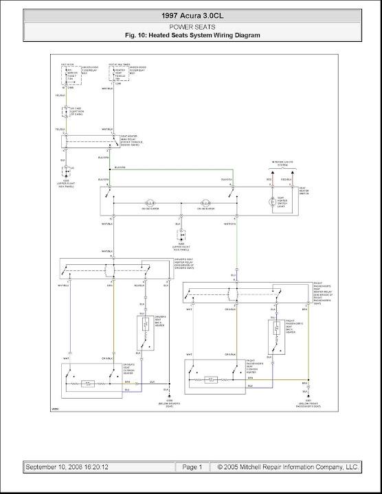 1995 Honda Seat Wiring - Wiring Diagram Progresif