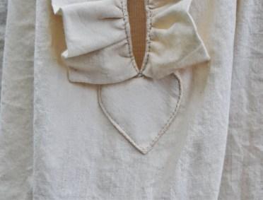 ouverture de la chemise