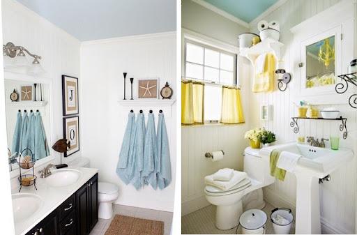 badezimmer decke tapezieren oder streichen | home interior Außen
