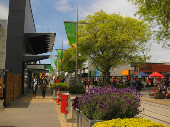 Re:Start container mall in Christchurch