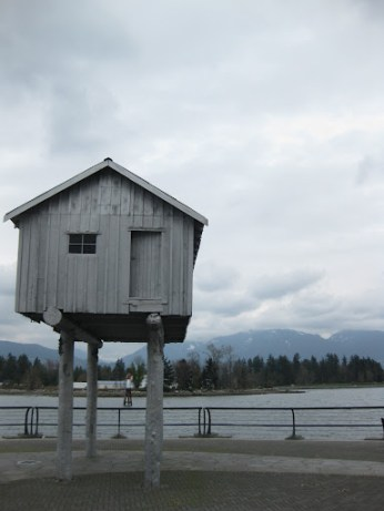 The House on Stilts, Coal Harbour, Vancouver