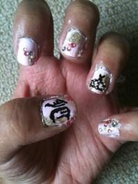Style Nail Art: Juicy Couture Nail Art