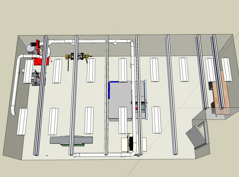 Construction Notes How to Do a Pipe Layout With a Sketchup