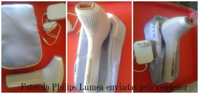 Fotos do Philips Lumea enviada pelo vendedor