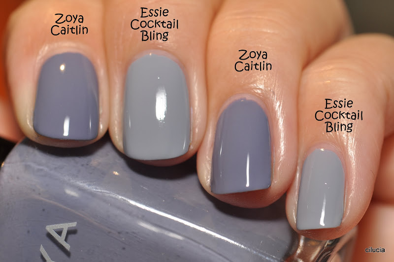 essie cocktail bling and zoya caitlin