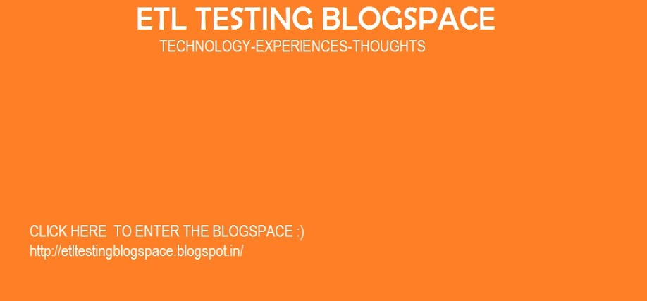 ETL Testing Blogspace TANGOE Tech Interview Questions - technology interview questions