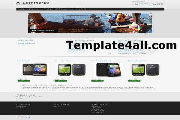 Free Drupal Themes Templates Download