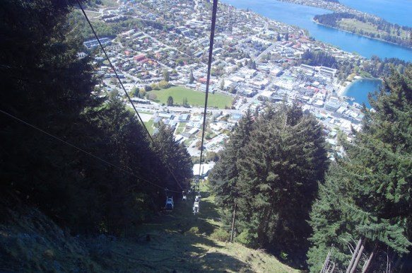 The Skyline Gondola in Queenstown