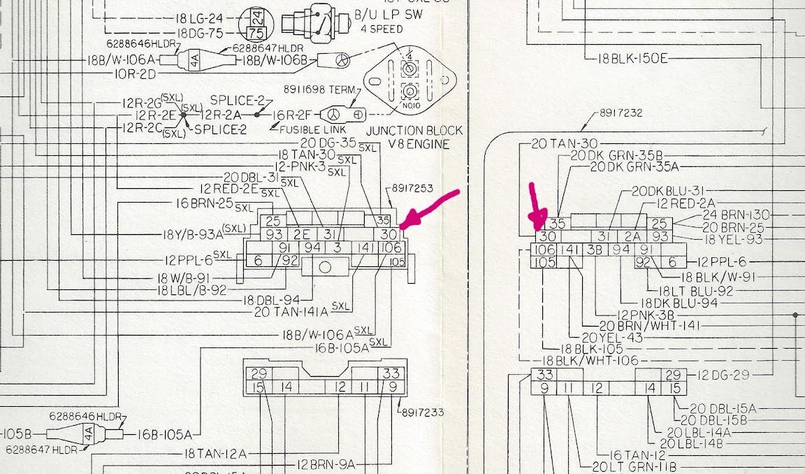 1975 Gmc Fuse Block Diagram Wiring Diagram