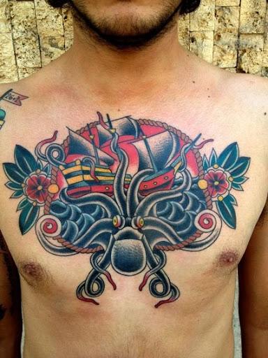 chest tattoo design for men