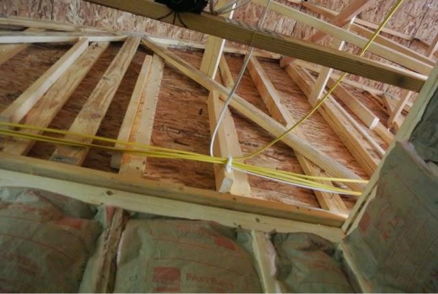 home wiring attic versus crawl space