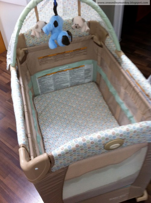 Medium Of Graco Travel Lite Crib