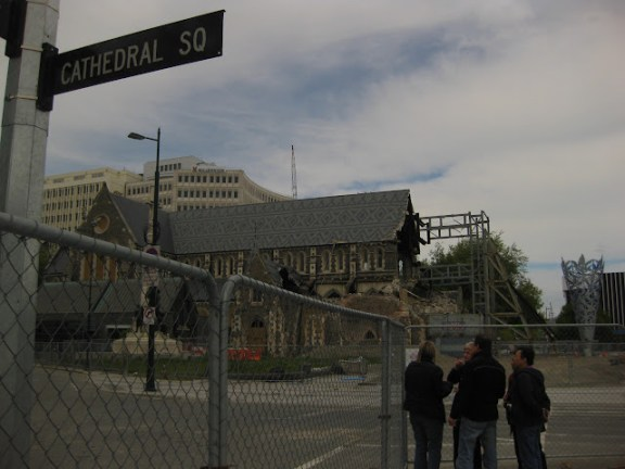 Christchurch Cathedral Square, New Zealand