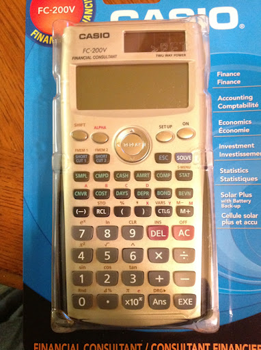 Eddie\u0027s Math and Calculator Blog First Look Casio FC-200V