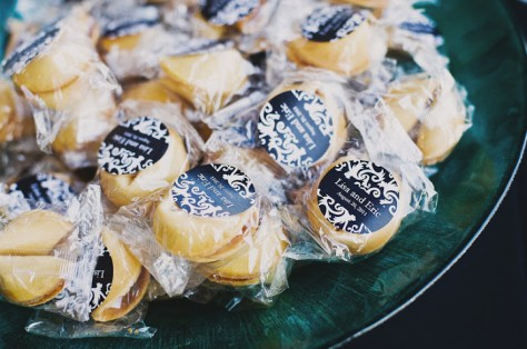 fortune cookie wedding favor