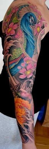 flower tattoo for men