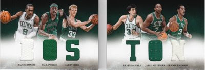 12/13 Panini Preferred Boston Book Card