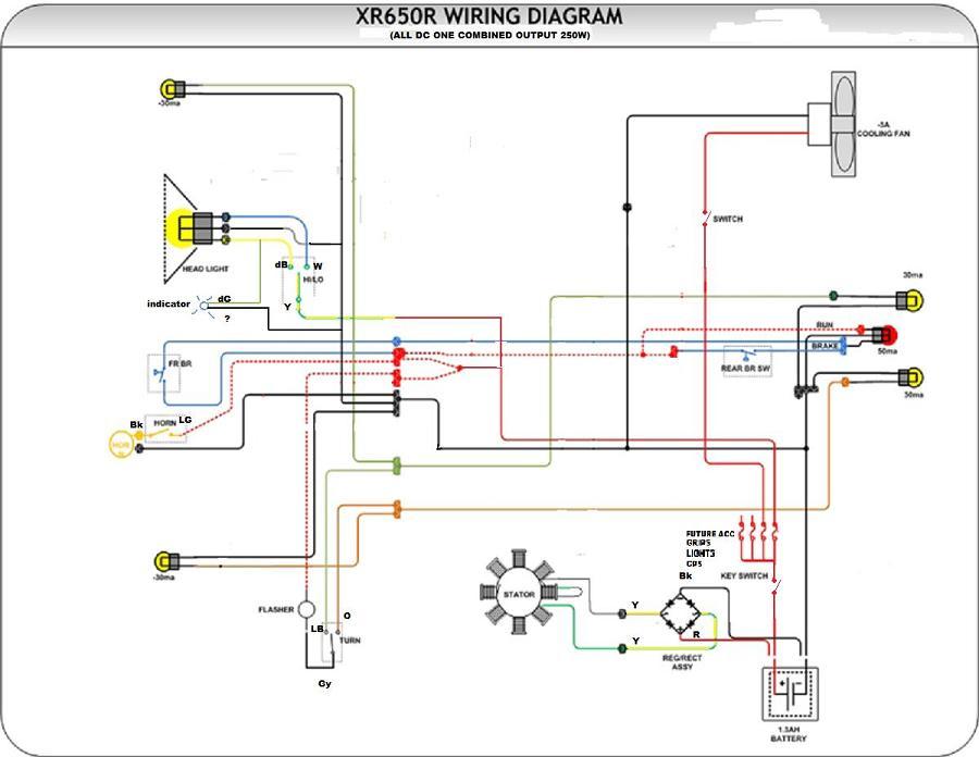 2002 Xr650r Wiring Diagram - Somurich