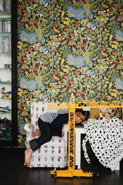 Wallpaper is Nympheus by GP & J Baker.   GP&J Baker Wallpapers & Fabrics   Pinterest   Wallpapers