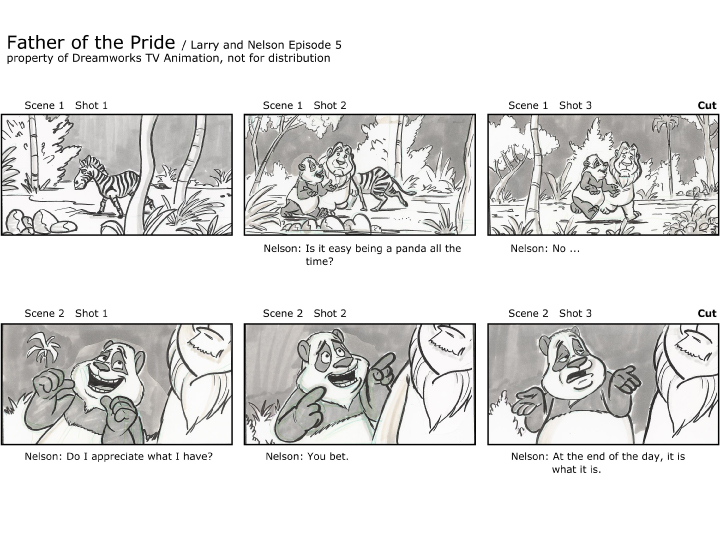 Brandon Strathmann\u0027s Artwork Professional Storyboard sample