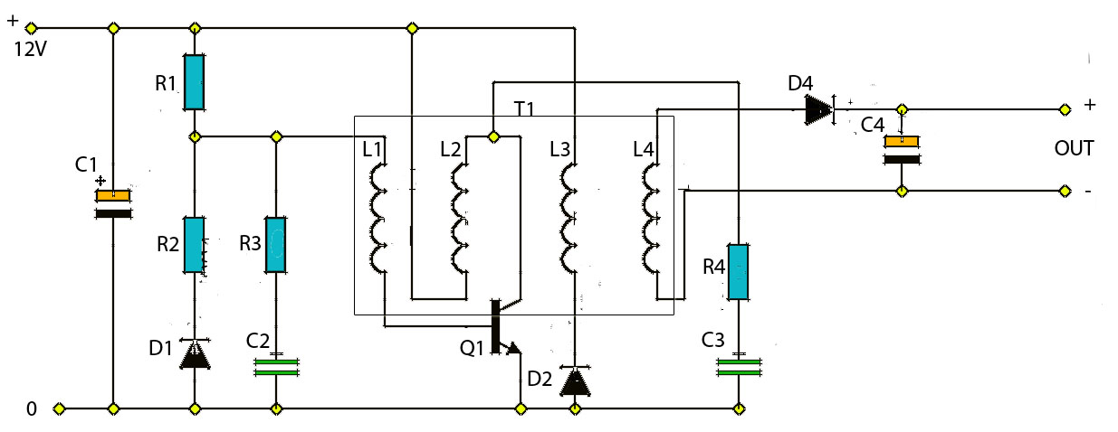 Portable Battery Charger Circuit - Electronic Circuit